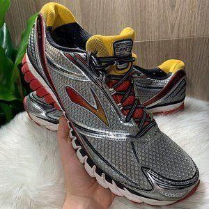 (15) Brooks Ghost 9 Men's Gray Running Shoes